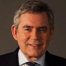 Gordon Brown portrait 2 crop. Tom Miller, copyright OGSB